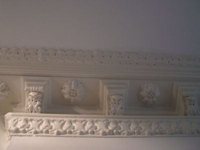 victorian ceiling coving - 120 years old