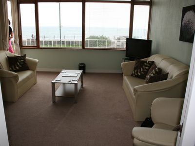 Sea view from lounge