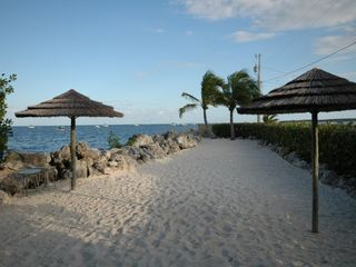 Key Largo townhome photo - Oceanfront, upland sunning beach