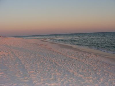 beautiful white sandy beaches