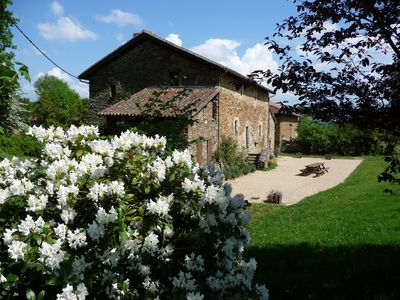 Very nice house from the 18th - garden, swimming pool - on the grounds of Chateau de Brie
