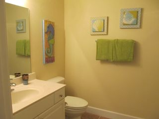 Tidewater Beach Resort condo photo - Full Bathroom near Bunk Bed Area