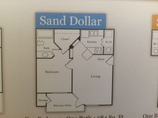 North Padre Island condo photo - Floor plan