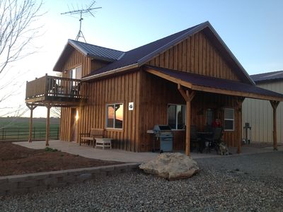 Enjoy Cabin on working farm!  1 hr. to Telluride, 1.5 hrs. to Moab, Utah.