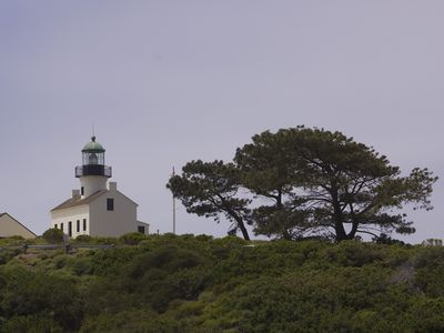 Cabrillo National Monument has our landmark lighthouse and great whale watching.