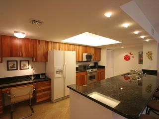 Delray Beach apartment photo - View of kitchen with small side desk