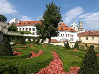 The Prague castle gardens