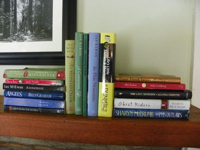Hot Springs cottage rental - A selection of reading material provided including works about the local area.