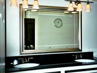 HOTEL STYLE ABSOLUTE BLACK GRANITE DOUBLE VANITY - Provincetown condo vacation rental photo