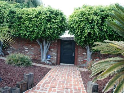 Front door leading to private courtyard.