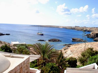 Lampedusa: Villa with character  and two bungalows in Lampedusa Island in secluded bay