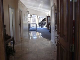 Hot Springs house photo - Marble entryway,