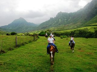 Kaaawa house photo - Horseback riding at the ranch is a must