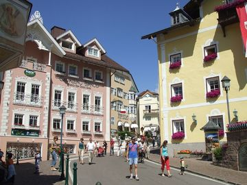 Pedestrian area of Ortisei