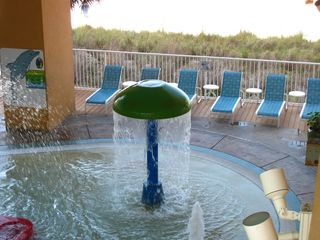 Splash Resort condo photo - Mushroom fountain at the kids' pool