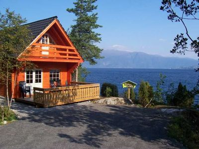 Six comfortable holiday houses in a beautiful fjord, perfect for fishing
