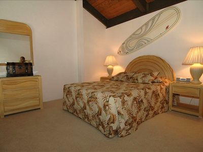 Loft room with queen bed