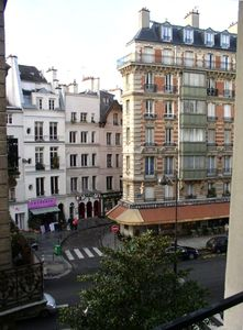 View of the Neighborhood as taken from the Apartment