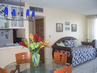 Isla Verde condo photo - Living and Dining Area