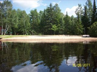 Lyman Lake house photo - Have your own Large , Awesome private beach on this 2.5 acre property