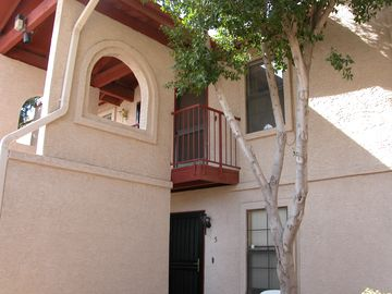 Apache Junction condo rental - Fabulous views of the Superstition Mountains from the front porch !!!