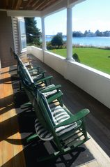 Kennebunk Beach house photo - Oceanside Porch