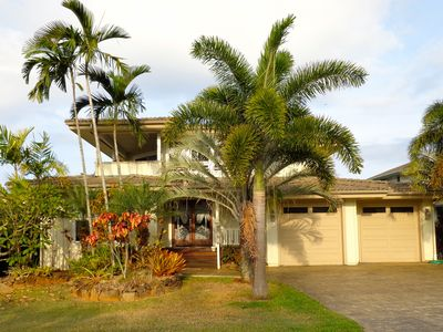 Princeville house rental - Front of house