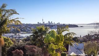 Auckland CBD townhome photo - Views across St. Heliers Bay toward central Auckland and the Harbour Bridge.
