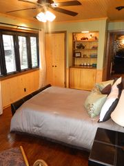 Lake Arrowhead cabin photo - main level master bedroom