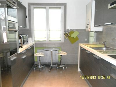 Air-conditioned accommodation, 70 square meters, close to the beach