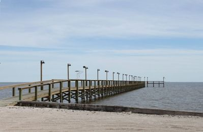 One of the fishing piers the Kontiki Beach complex has for your enjoyment