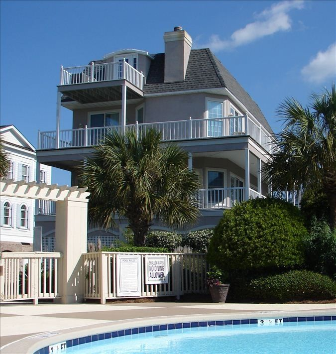 Mansion Pools Close Up: 5 BR House: So Close To The Beach & Pool...
