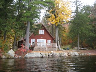Sebago cottage photo - Fall 2008 (front)