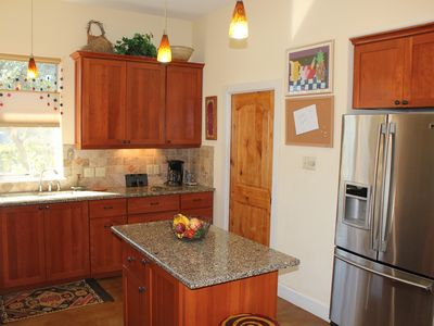 Open Spacious Kitchen with all the comforts of home