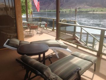Parker house rental - Relax, read or sip coffee with an amazing view from the available front deck.
