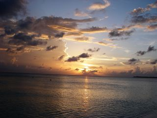 Grand Cayman condo photo - Sunset at the Christopher Columbus