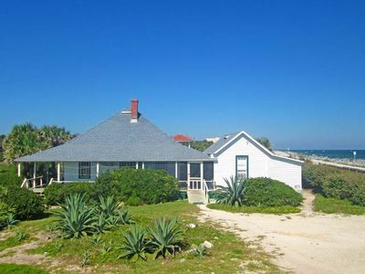 Welcome to The Lodge! - Come vacation in a treasure of Summer Haven history. This 110 year old cottage, St. Augustine Lodge, is direct ocean front.