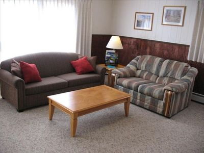Comfortably furnished throughout!