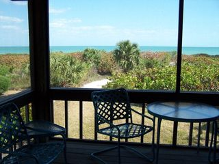 Sanibel Island condo photo - porch view