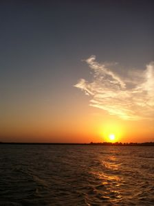 One of Tybee's amazing sunsets!