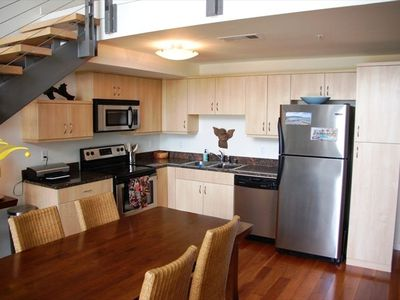 Fully Equipped Kitchen with S/S Appliances - Open to LR Area!