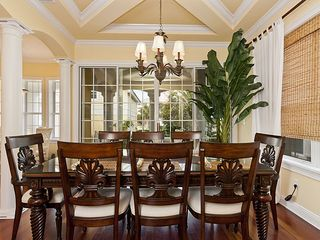 Palm Coast house photo - Enjoy elegant meals and raise a toast to a perfect vacation.