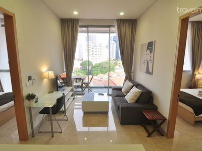 2BR Downtown Serviced Apartment @ MRT #F