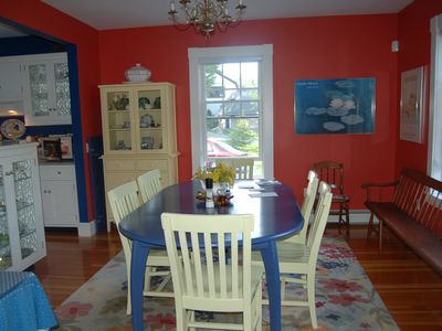 Mount Desert house rental - Dining Room