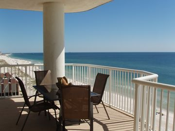 Gulf Shores condo rental - 10th Floor, East Corner View - Can't You Just Feel The Sea Breeze?
