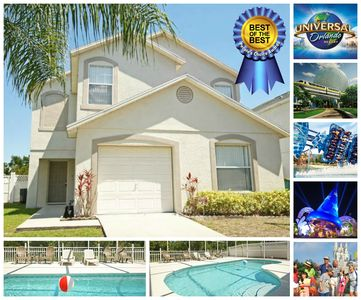 Fabulous Vacation Home Sleeps 10 w/Attached Pool 3 Miles to Disney!