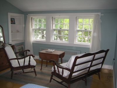 Both Queen Bedrooms have a private sitting area and water views.