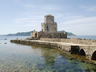 Methoni apartment rental - Methoni castle