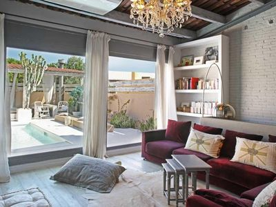 House in Barcelona with Internet, Pool, Air conditioning, Terrace (413579)