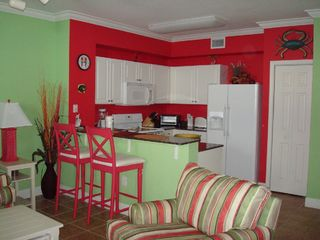 Tidewater Beach Resort condo photo - Fully equipped kitchen and the bar